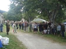 15.07.2012 les villageois et la cérémonie