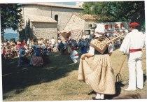 Folklore au Charel 15.08.1989