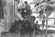 15.08.1978 préparatifs du feu d'artifice