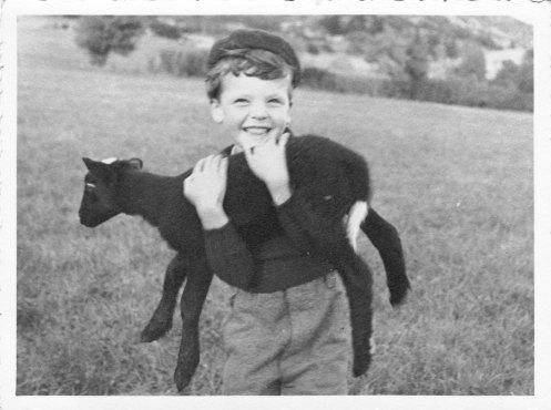 Aimé et le petit agneau noir