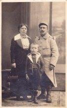Poilu et sa famille