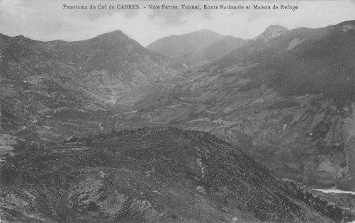 Panorama du col de Cabre