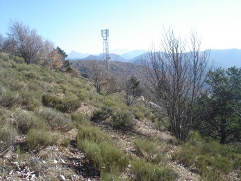 Pylône station téléphone