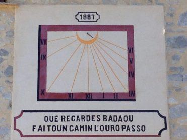 Cadran solaire leschois