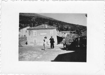 09.1950 la charrette de foins