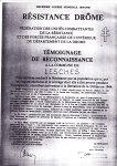 Lesches-en-Diois, le Diois et les Guerres de 1914-1918 et 1939-1945