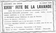 Annonce JDD Fête 15.08.1976