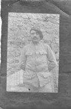 Décembre 1917 Poilu leschois