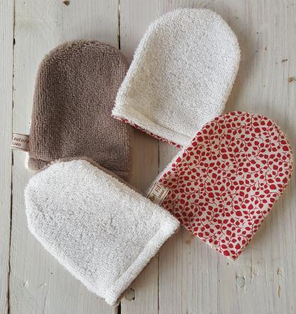 mini gants démaquillants Delfil Couture Les Chouettes Culottées