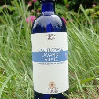 eau florale lavande vraie 200ml Plante des Cévennes