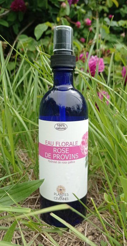 eau florale rose de Provins 200ml