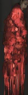 Comme des Garçons, Anna Cleveland, 2015, 170 x 50.3 © Katerina Jebb