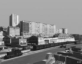 1947 : l'intégration dans le paysage urbain