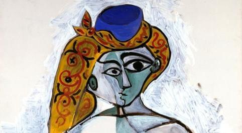 """Résultat de recherche d'images pour """"Picasso (Femme nue au bonnet turc, détail)"""""""