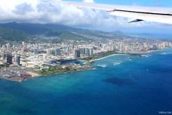 Honolulu from the sky