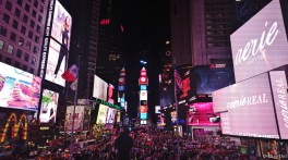 4) Time Square Night
