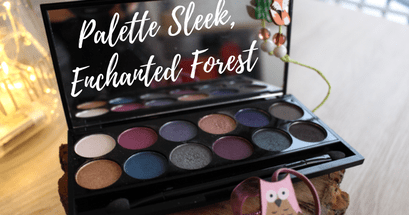 La palette Enchanted Forest de Sleek – Test et avis