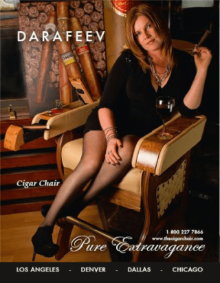 fauteuil cigare
