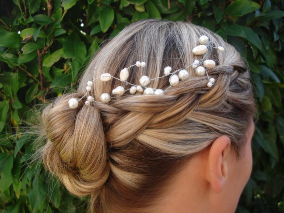 wedding up-do hair salon sarasota St Armands