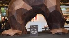 Sculpteur, Richard Orlinski, aidé par Christelle Brua et Frédérik Anton, Le Pré Catelan et Lenôtre