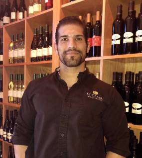 thomas perez general manager at the best of all las cruces restaurants, St. Clair Winery & Bistro. We have local wine, craft beer, unique and flavorful menu, and a beautiful dining environment best restaurant in Las Cruces