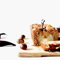 Cake - Poires & Farine de Châtaigne