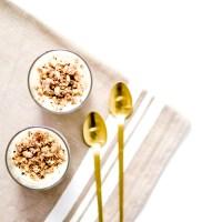 Panna Cotta - Lait d'amande & Chocolat blanc