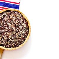Tarte - chocolat & noisettes