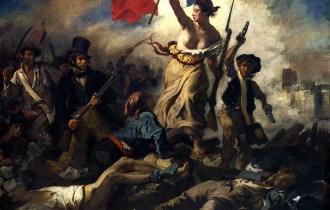 La liberté guidant le peuple - Delacroix
