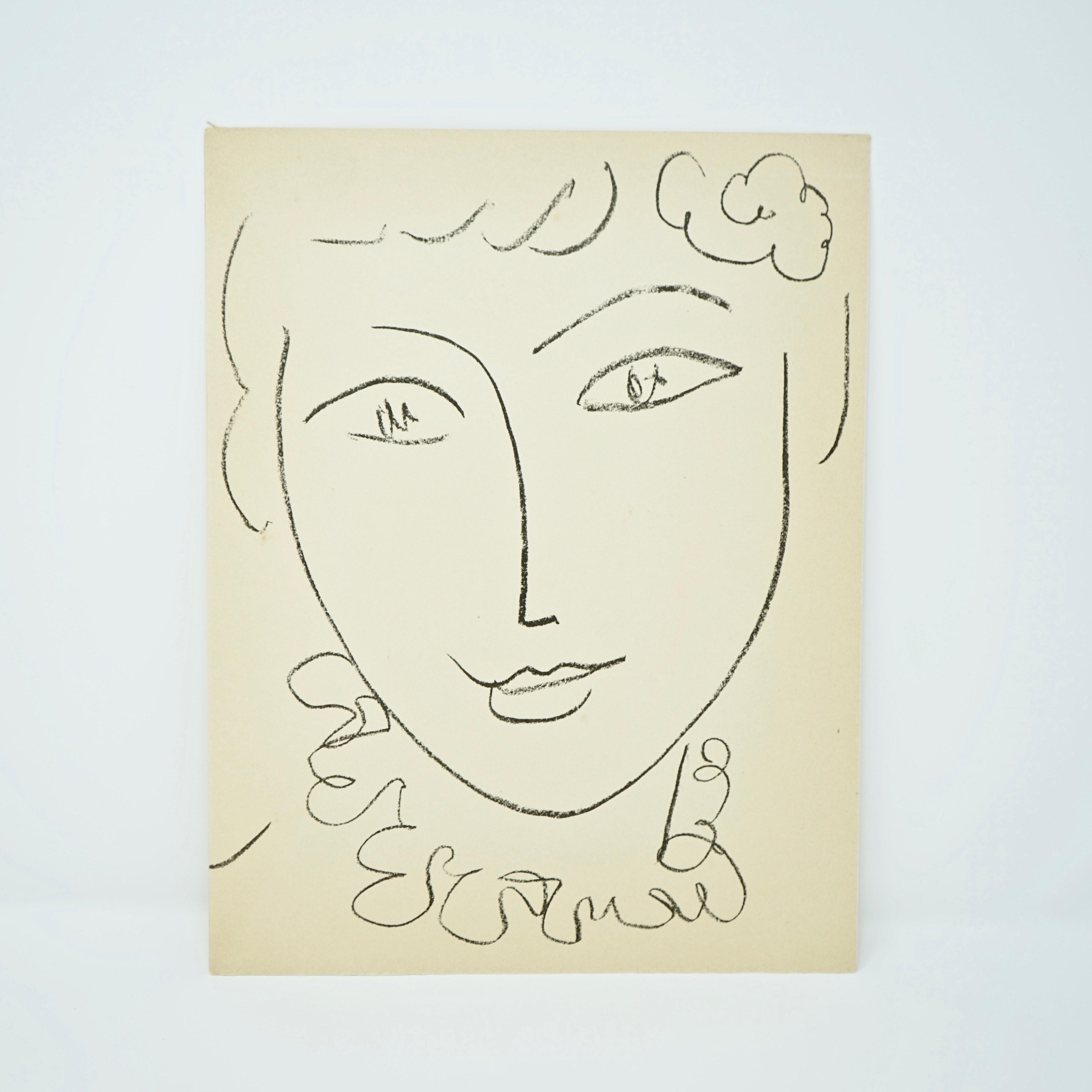 Frontispice Livre d'Art Portraits d'Henri Matisse