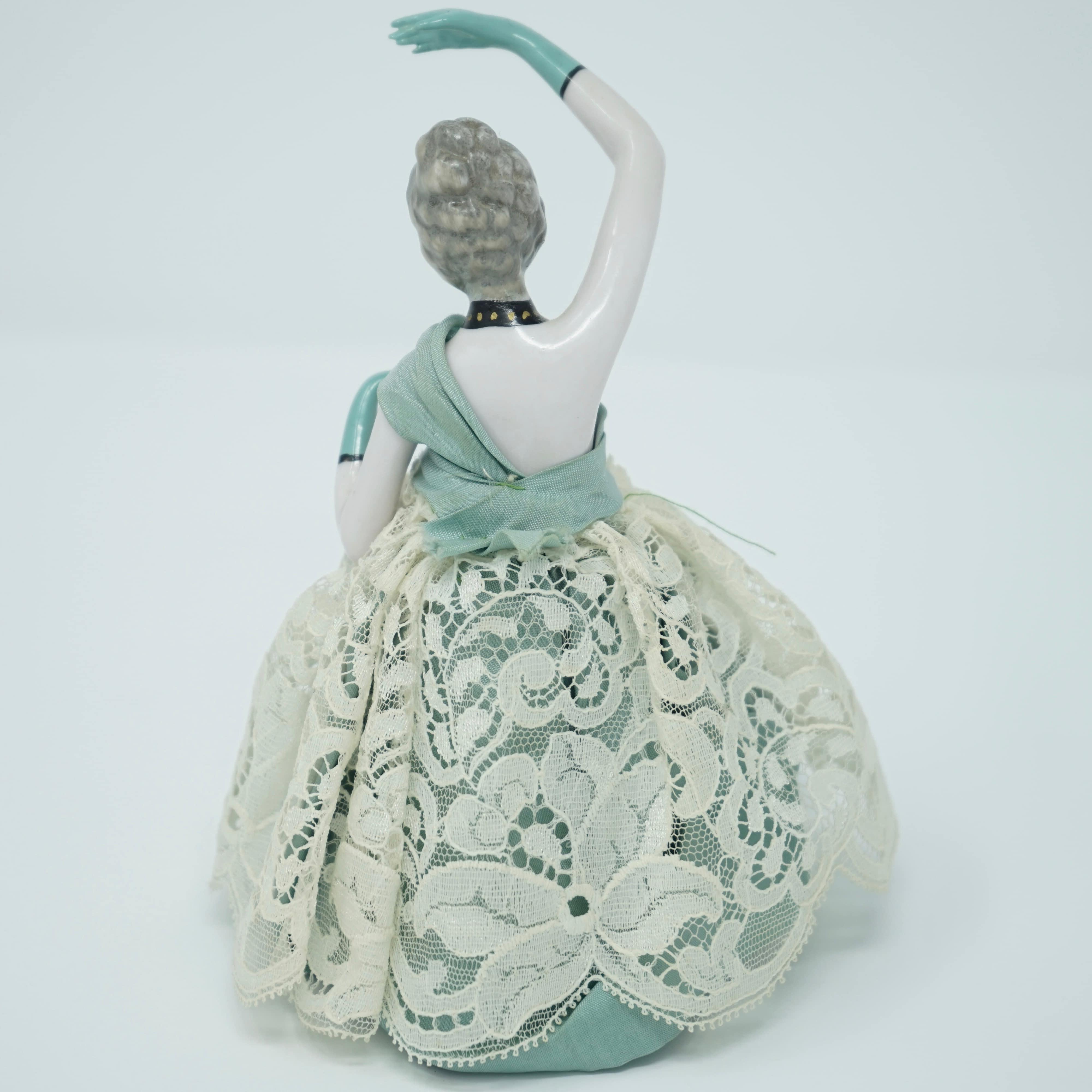 Danseuse en Porcelaine de Dos