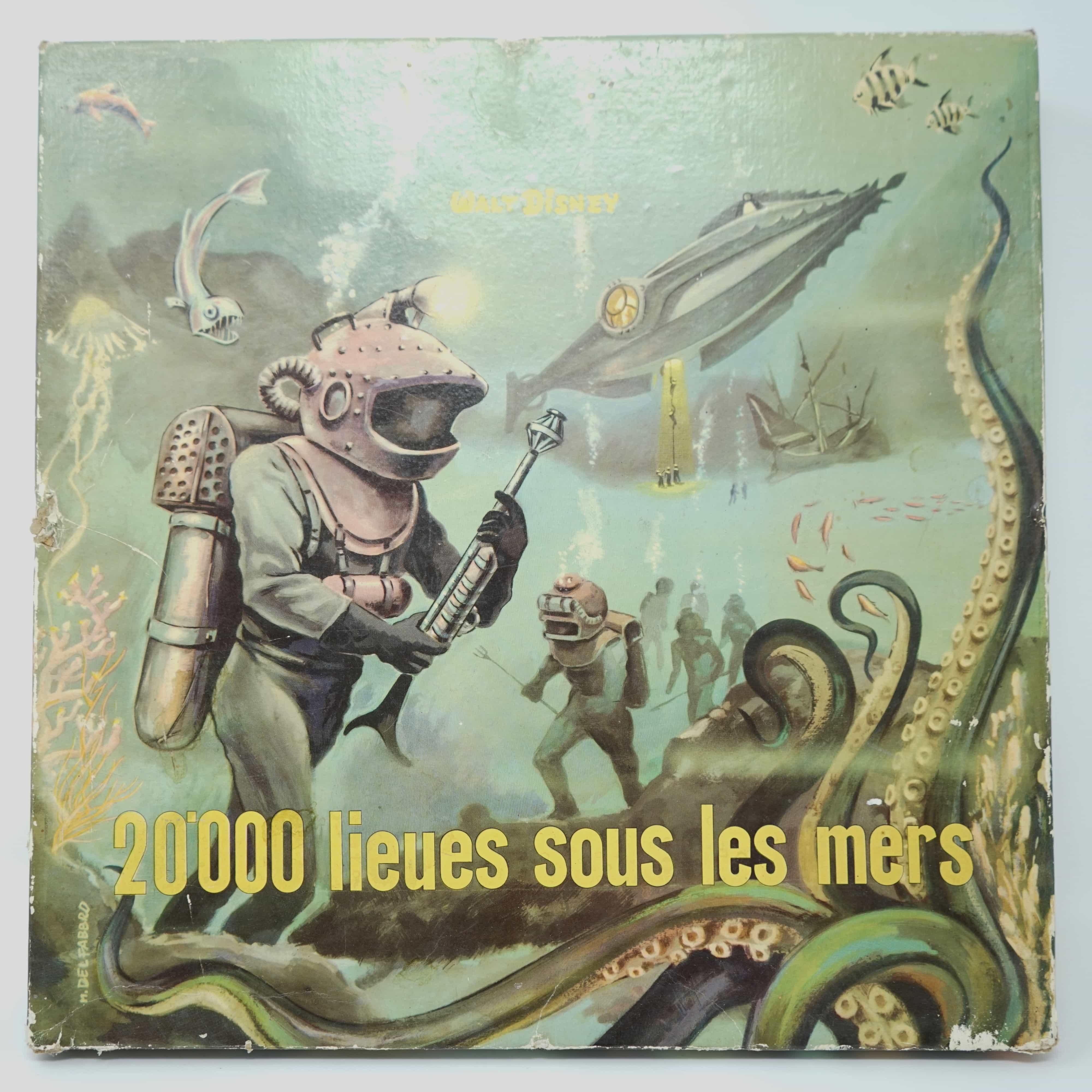 Jeu 20000 Lieues Sous les Mers