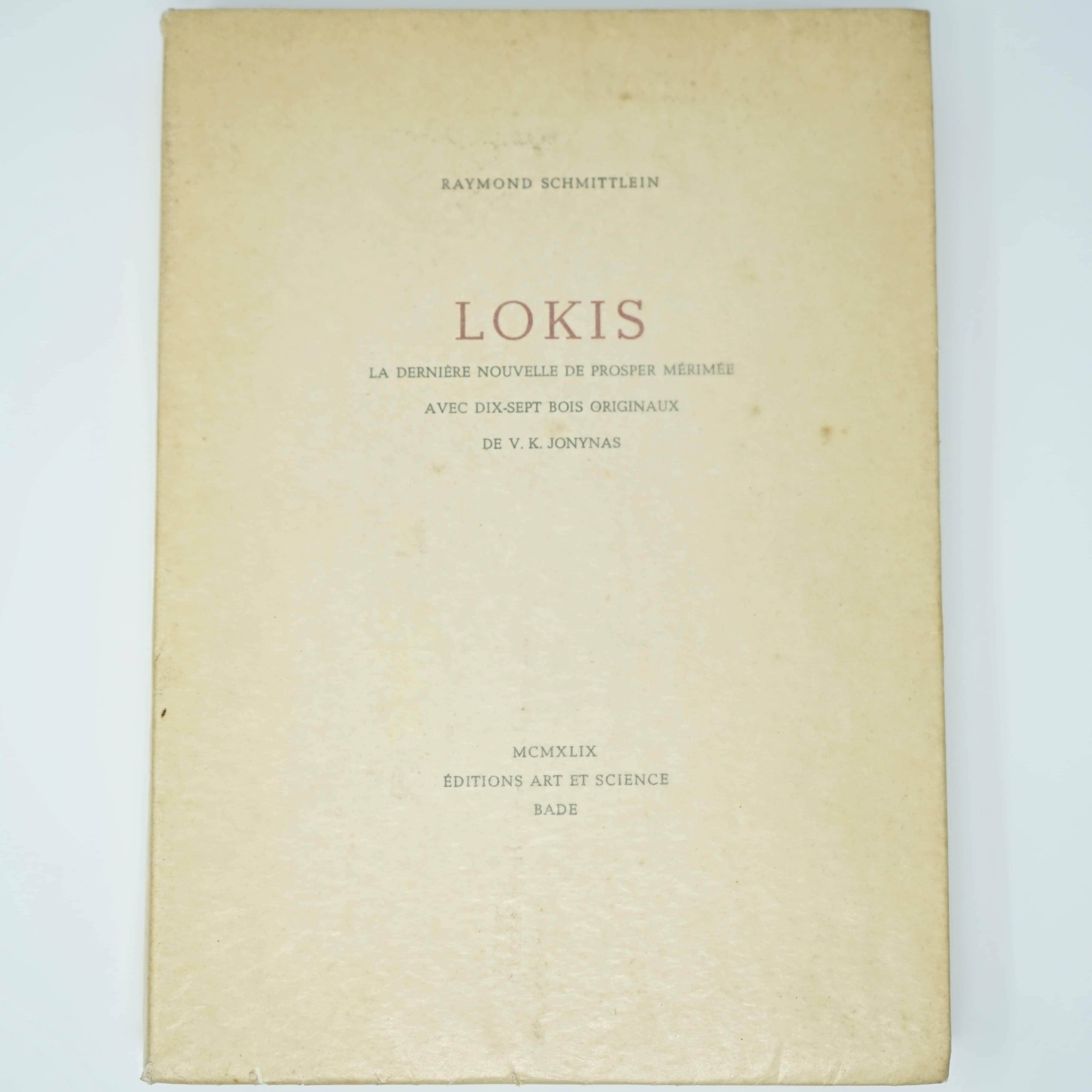 Livre Nouvelle Lokis de Prosper Merimée