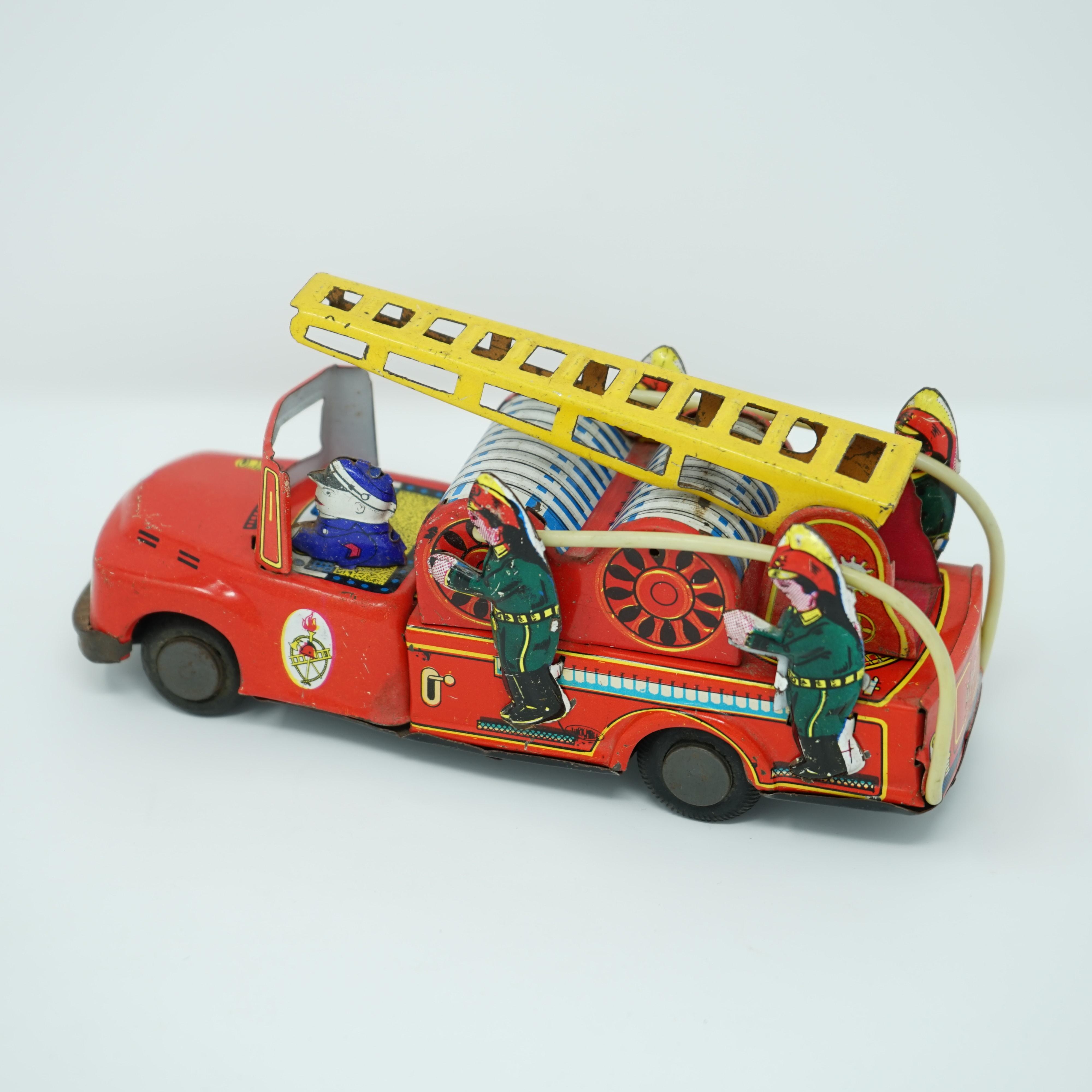 Camion de Pompiers Années 1960