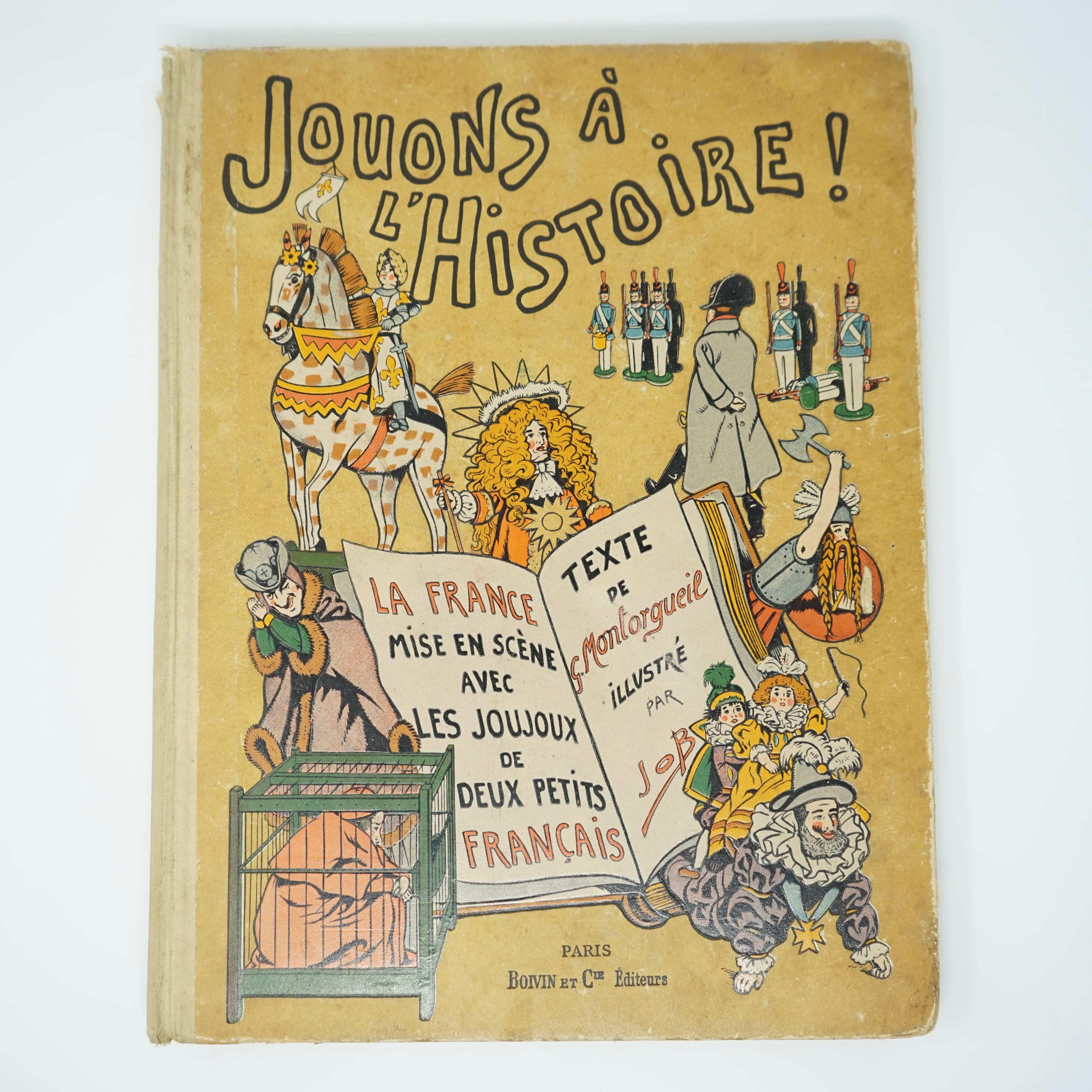 Livre Jouons à l'Histoire Année 1933