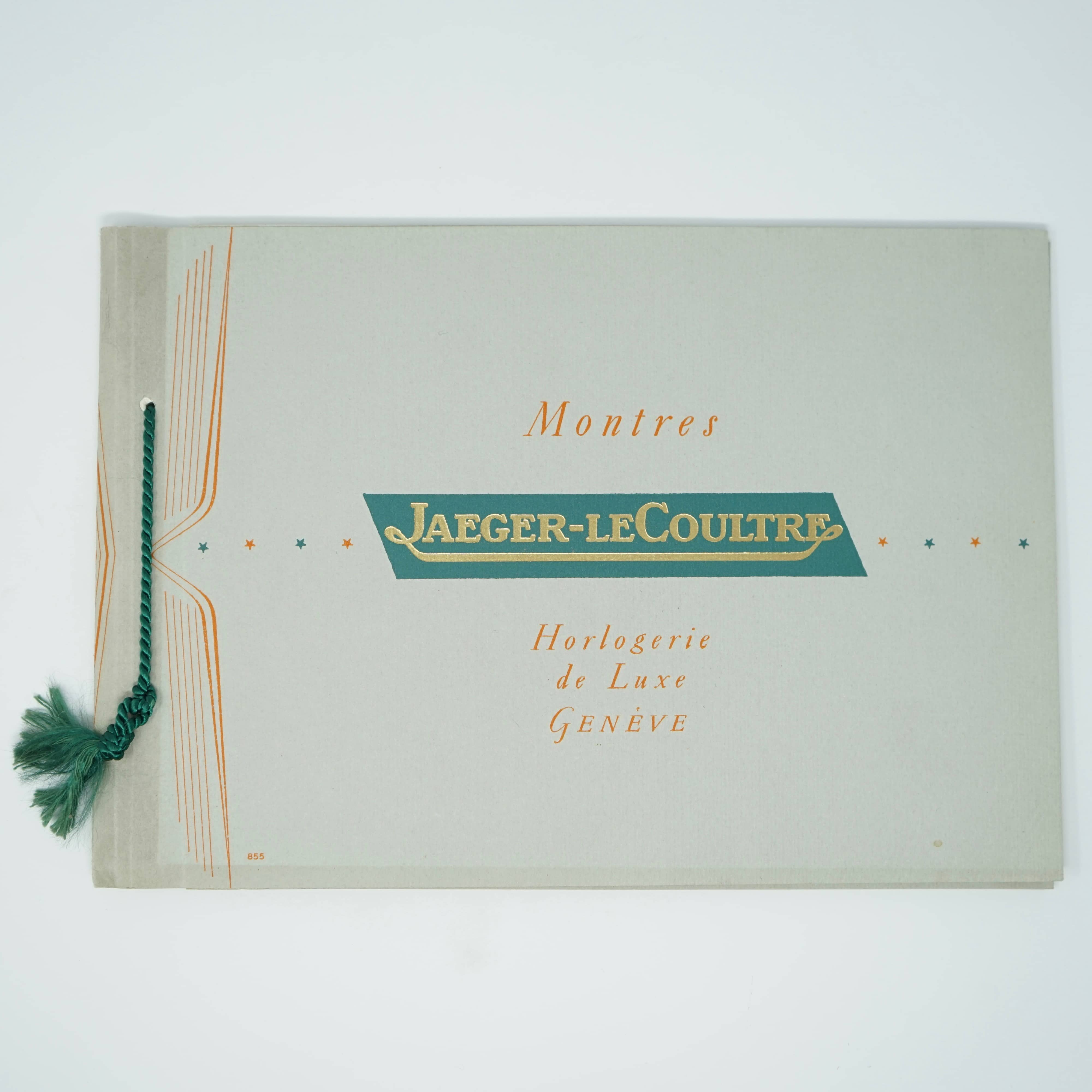 Catalogue Ancien Montres Jaeger-LaCoultre