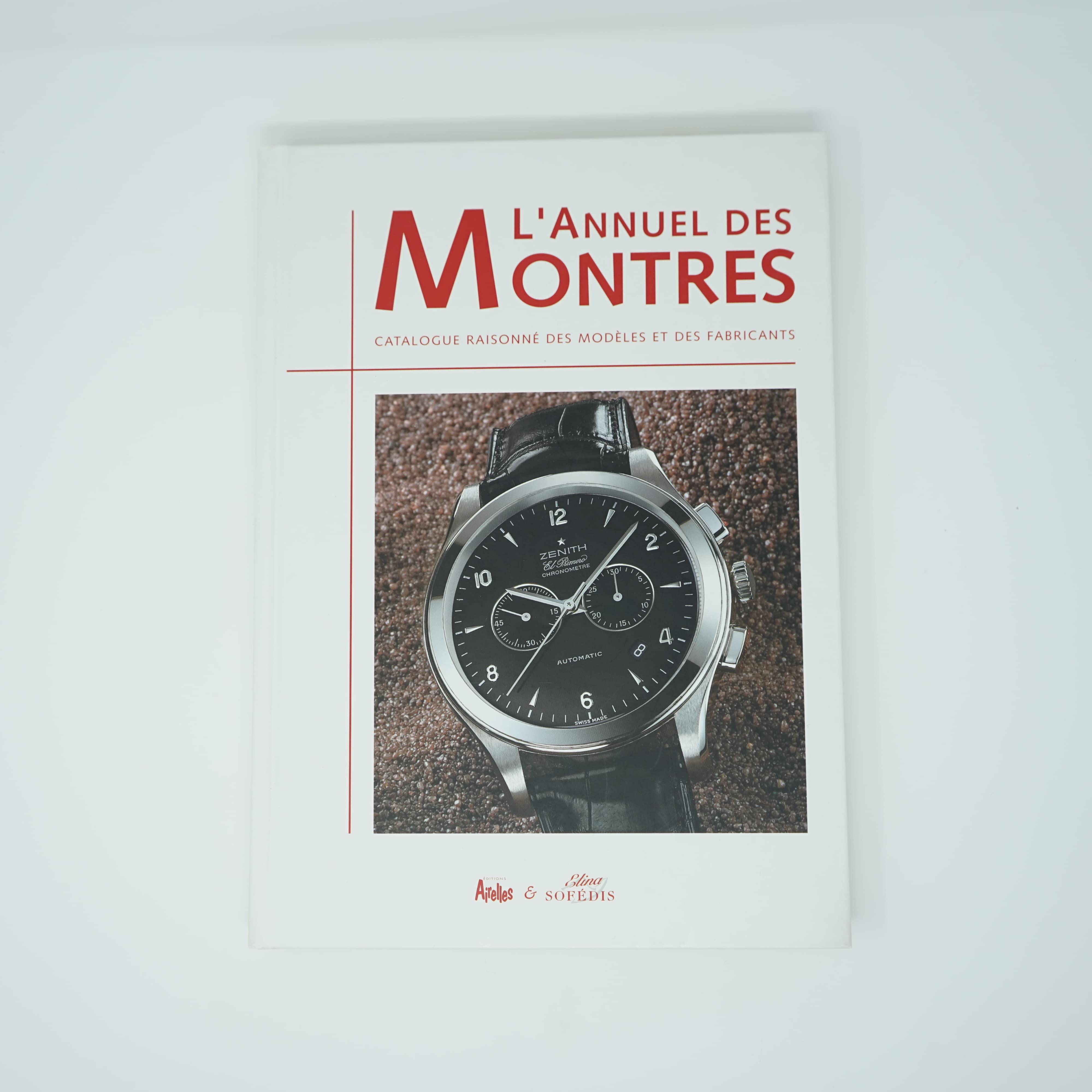 L'Annuel des Montres Année 2003 Couverture