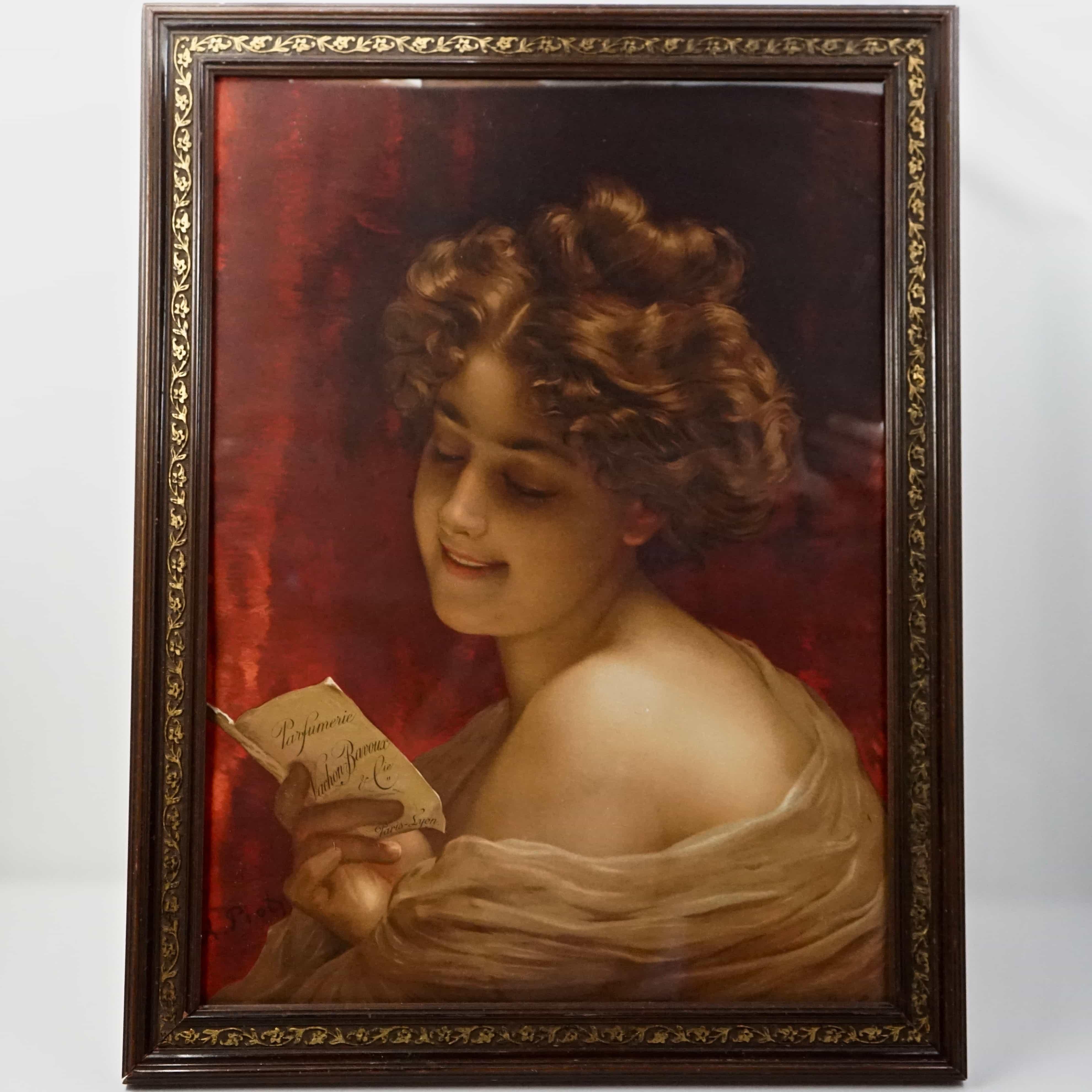 Publicité Vachon Bavoux par Adolphe Piot