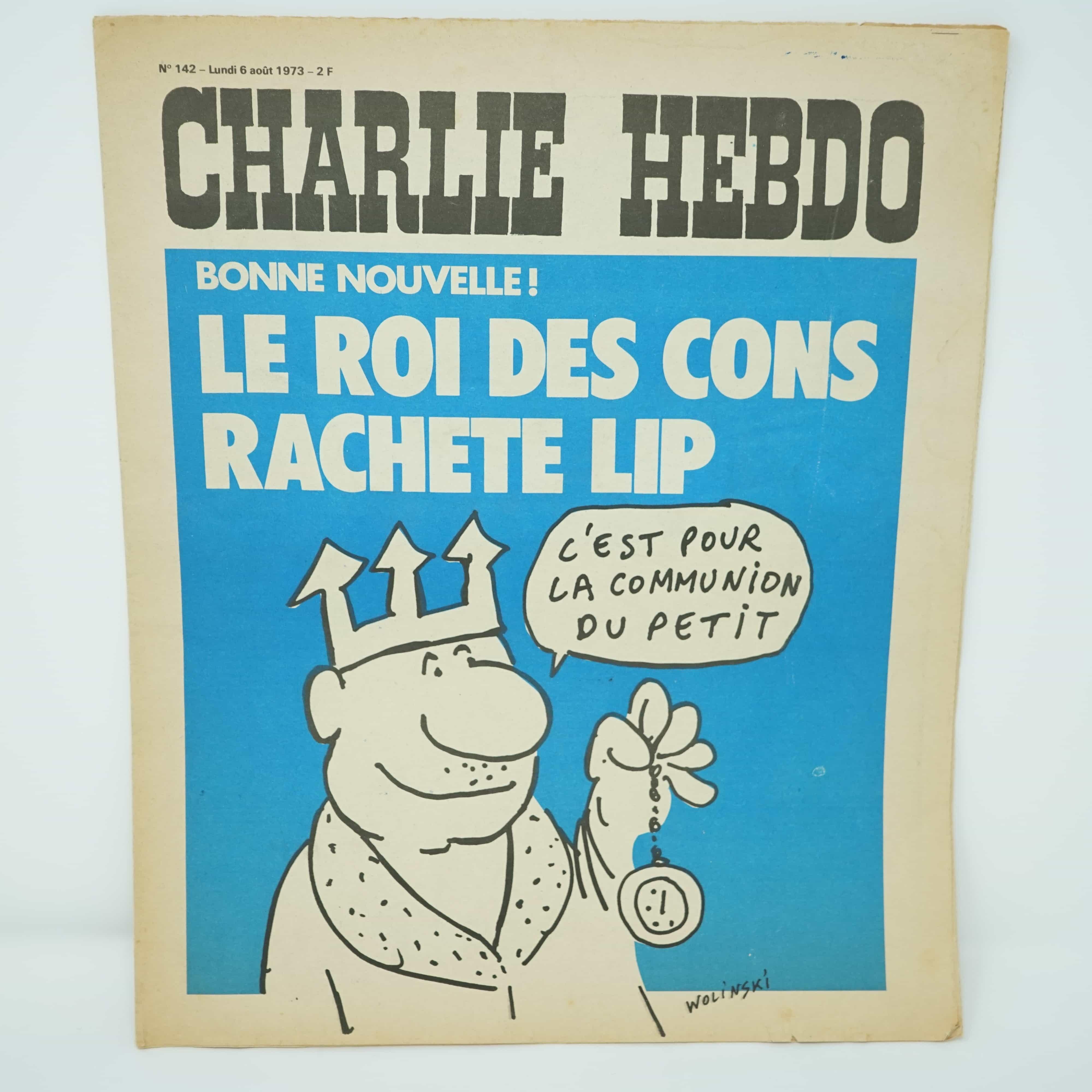 Charlie Hebdo n°142 1973 LIP
