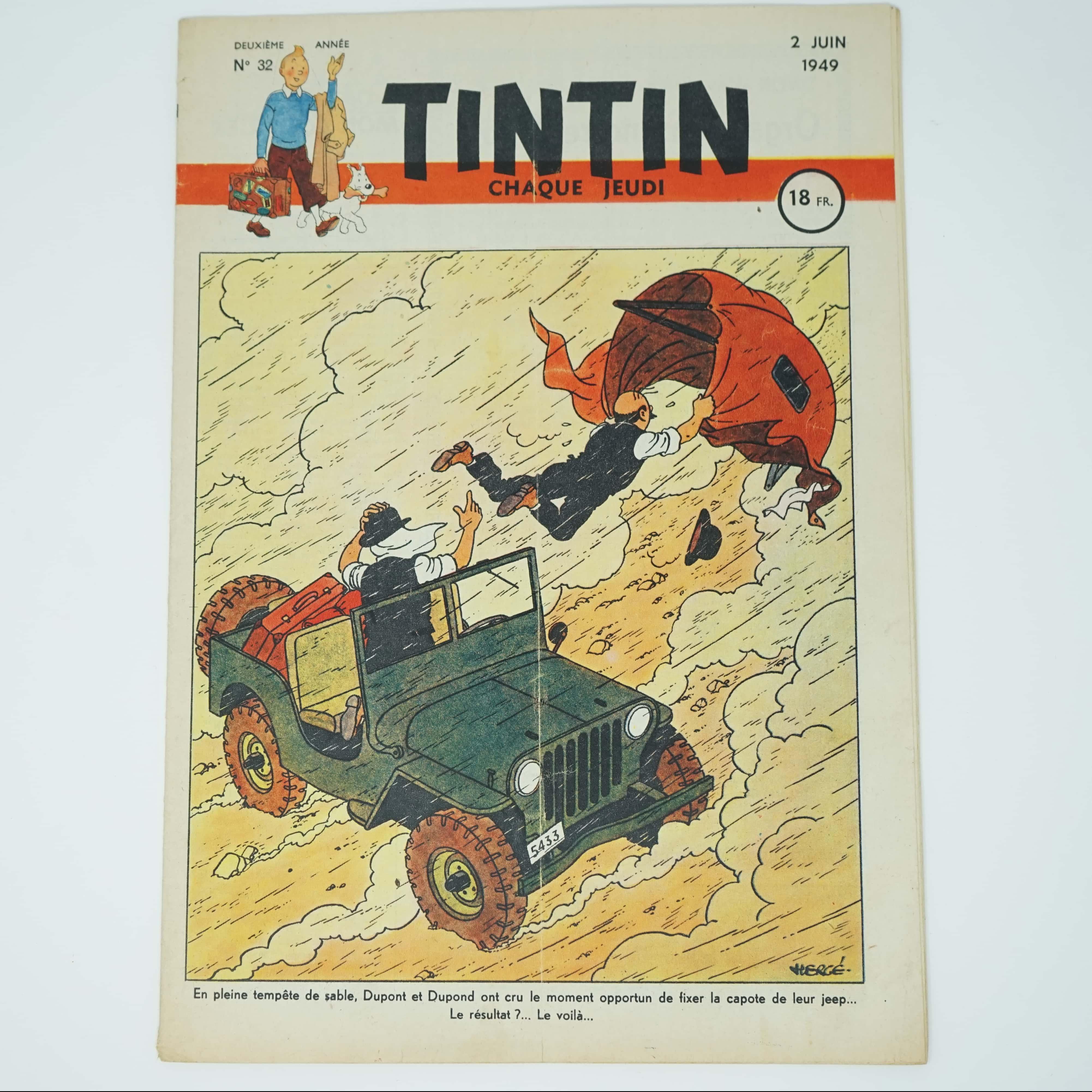 Tintin Édition Française N°32