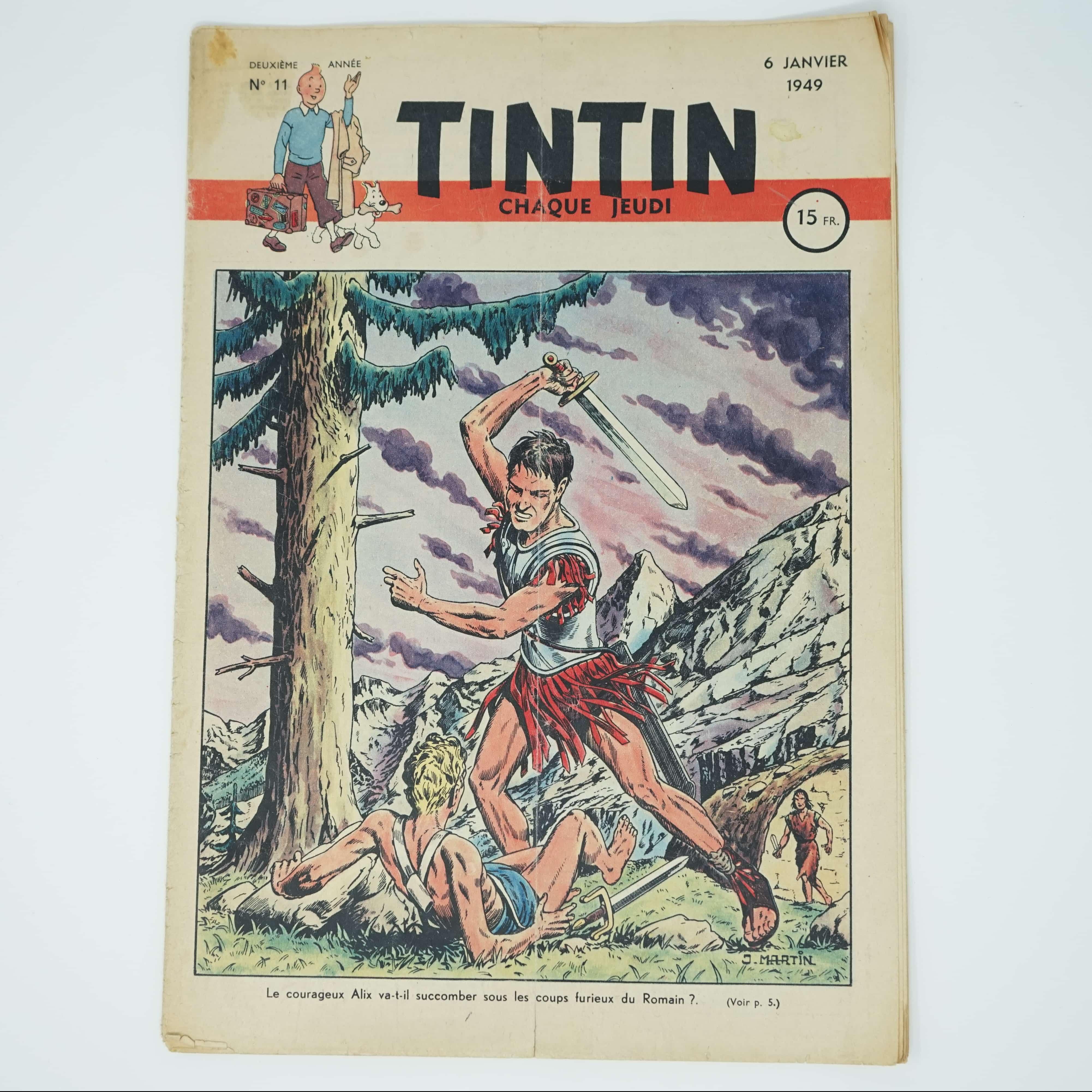Tintin Édition Française N°11