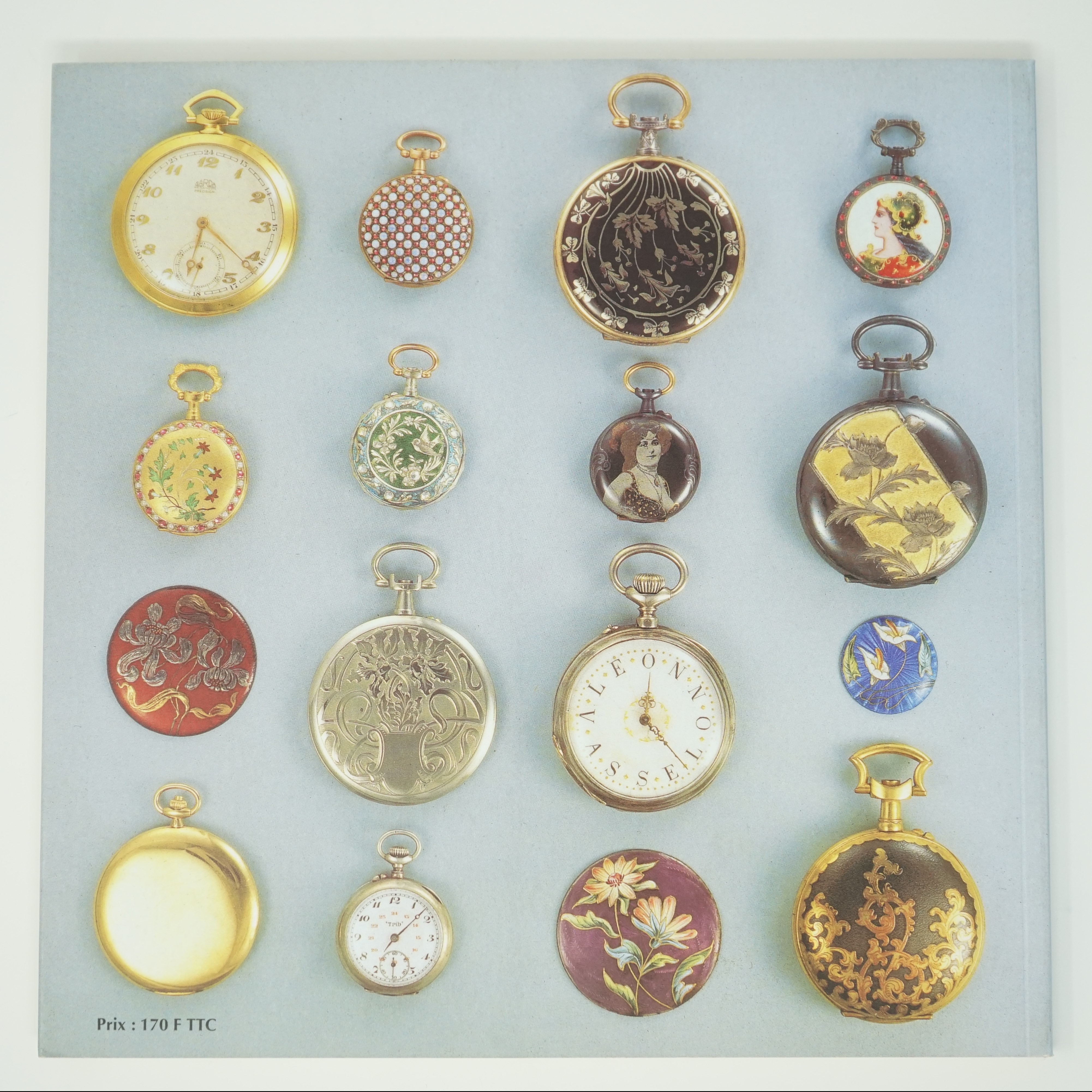 Livre Besançon Horloger (1793-1914) de Jean-Luc Mayaud Quatrième de Couverture