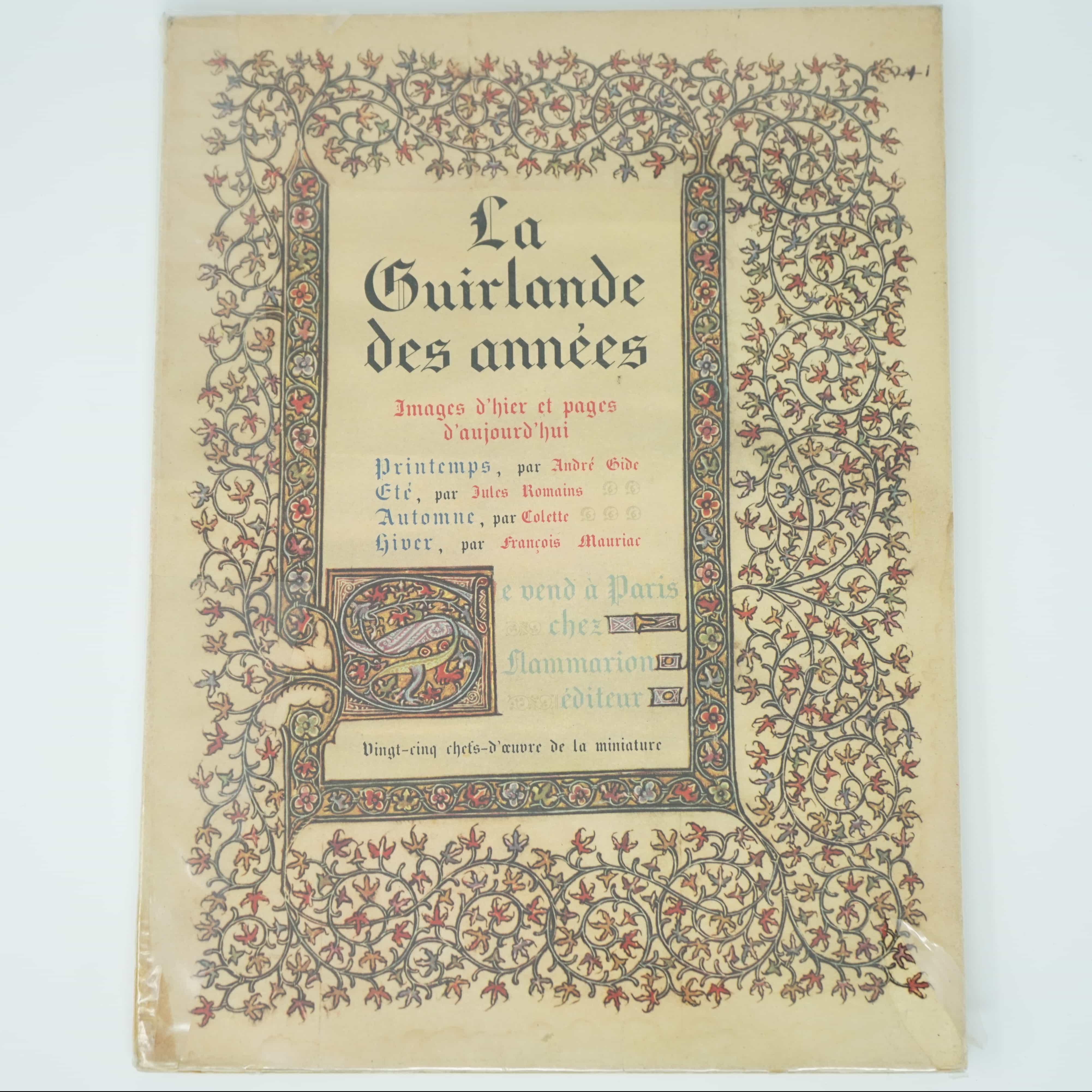 Livre La Guirlande des Années