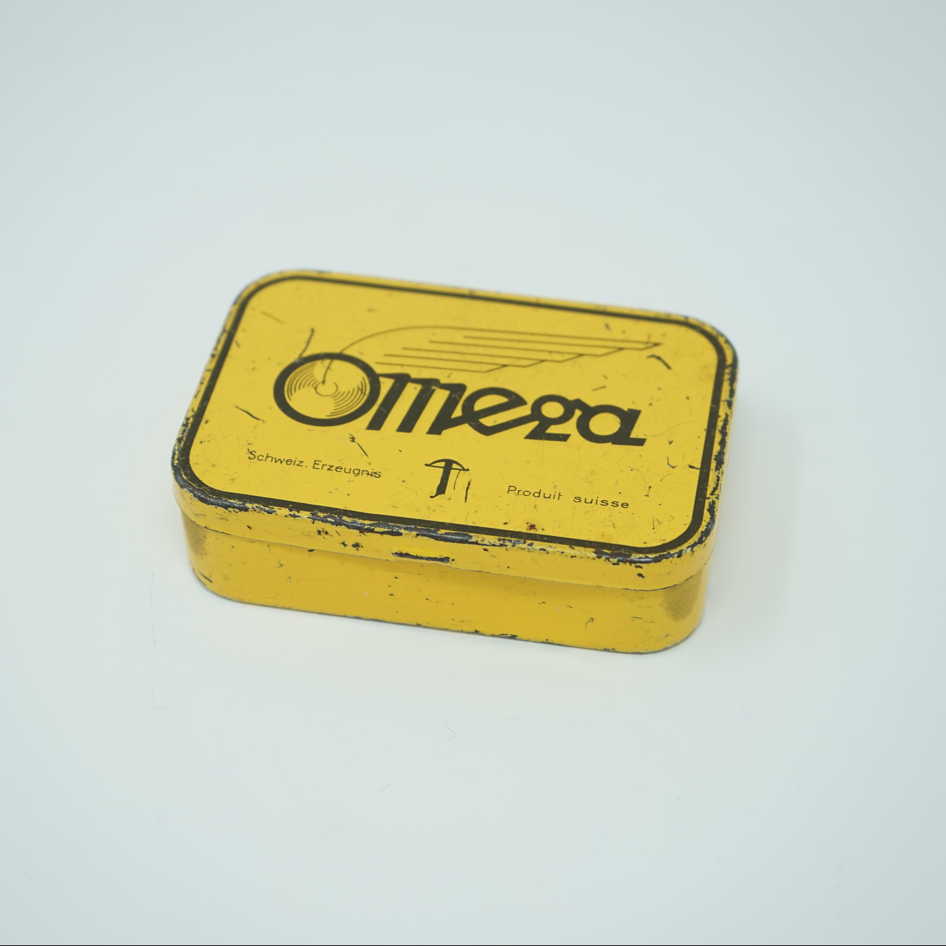 Boîte Métal de Rustines Omega
