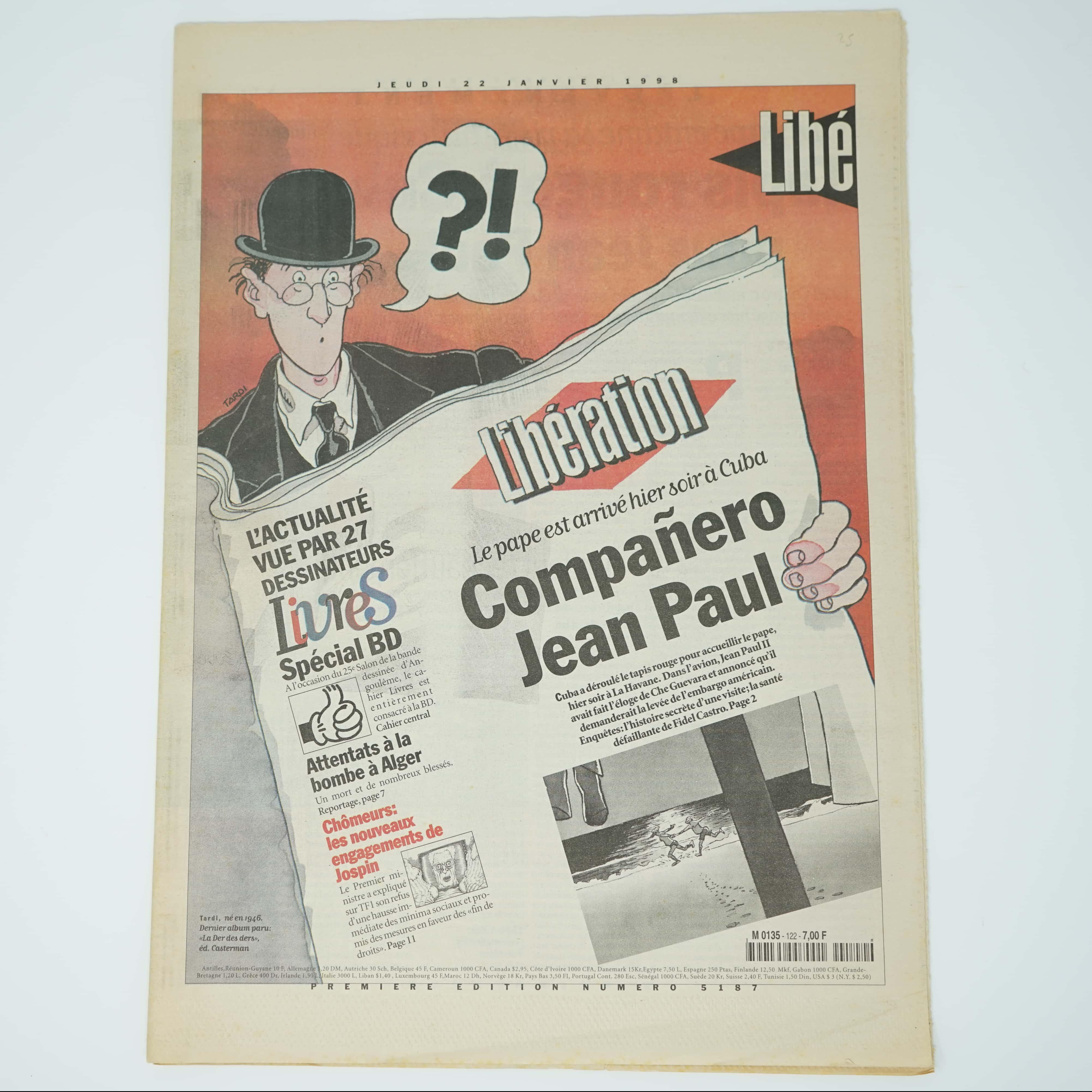 Libération Spécial BD Année 1998