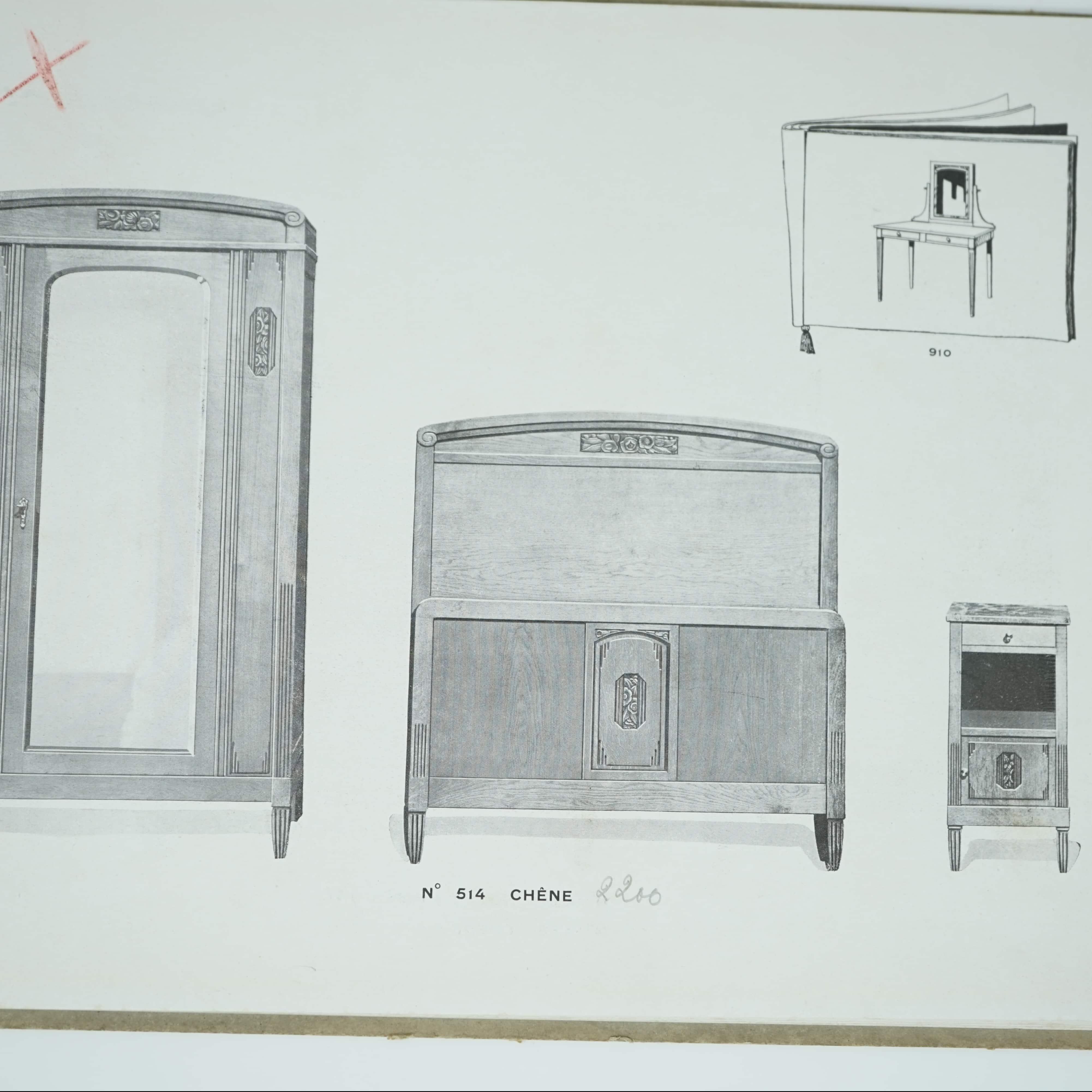 Catalogue Le Mobilier d'Art Moderne 1925