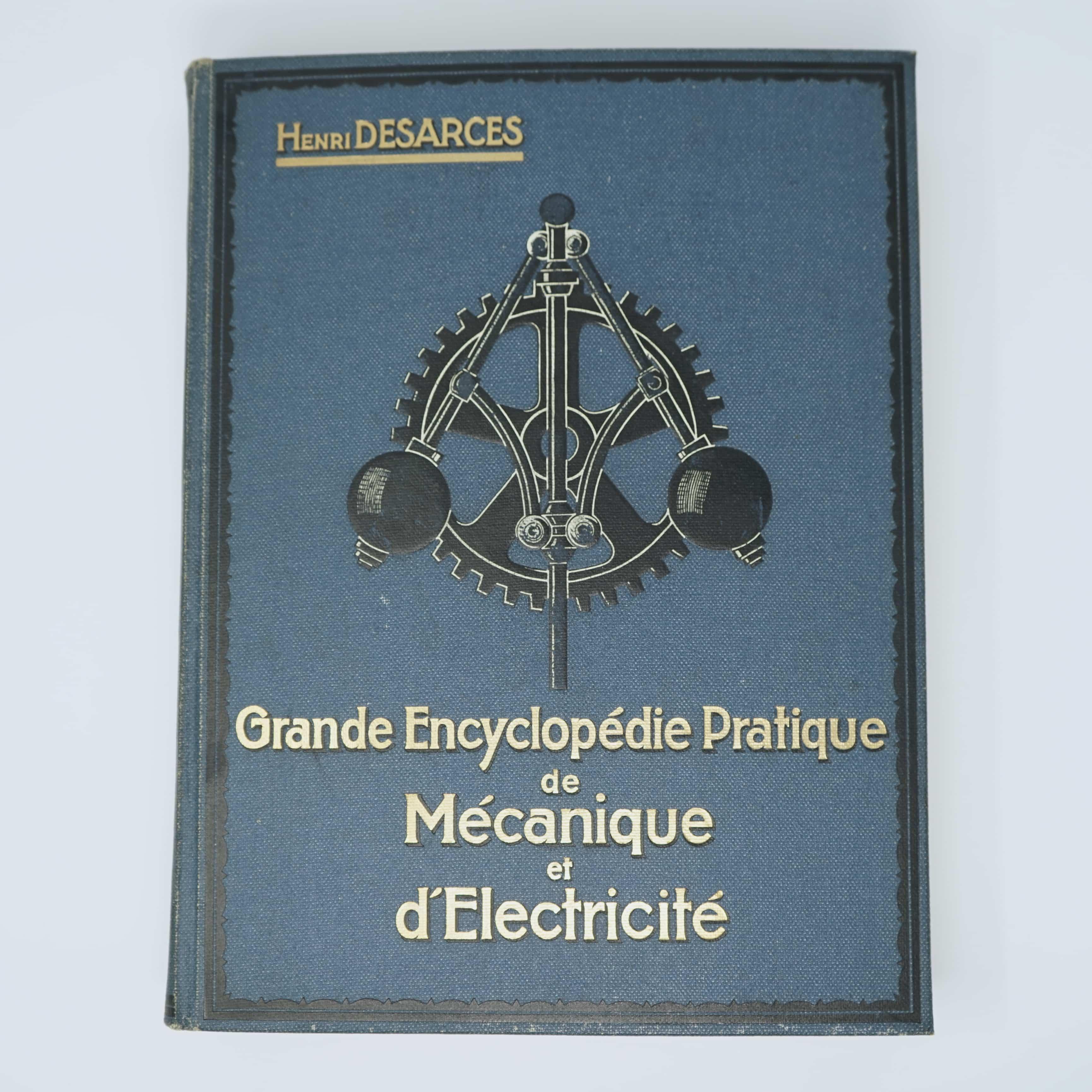 Grande Encyclopédie de Mécanique et d'Électricité Couverture