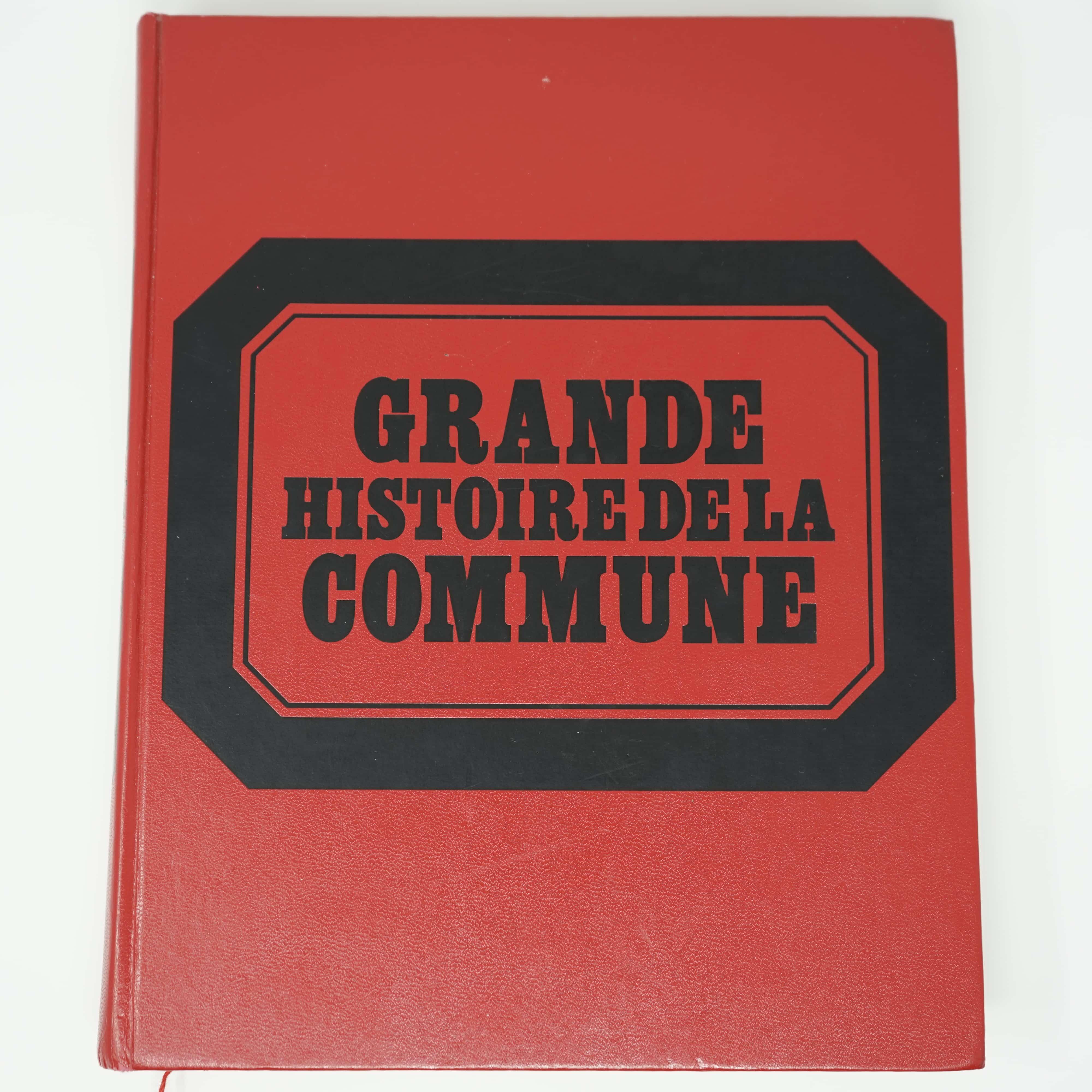 Livre Grande Histoire de la Commune Couverture