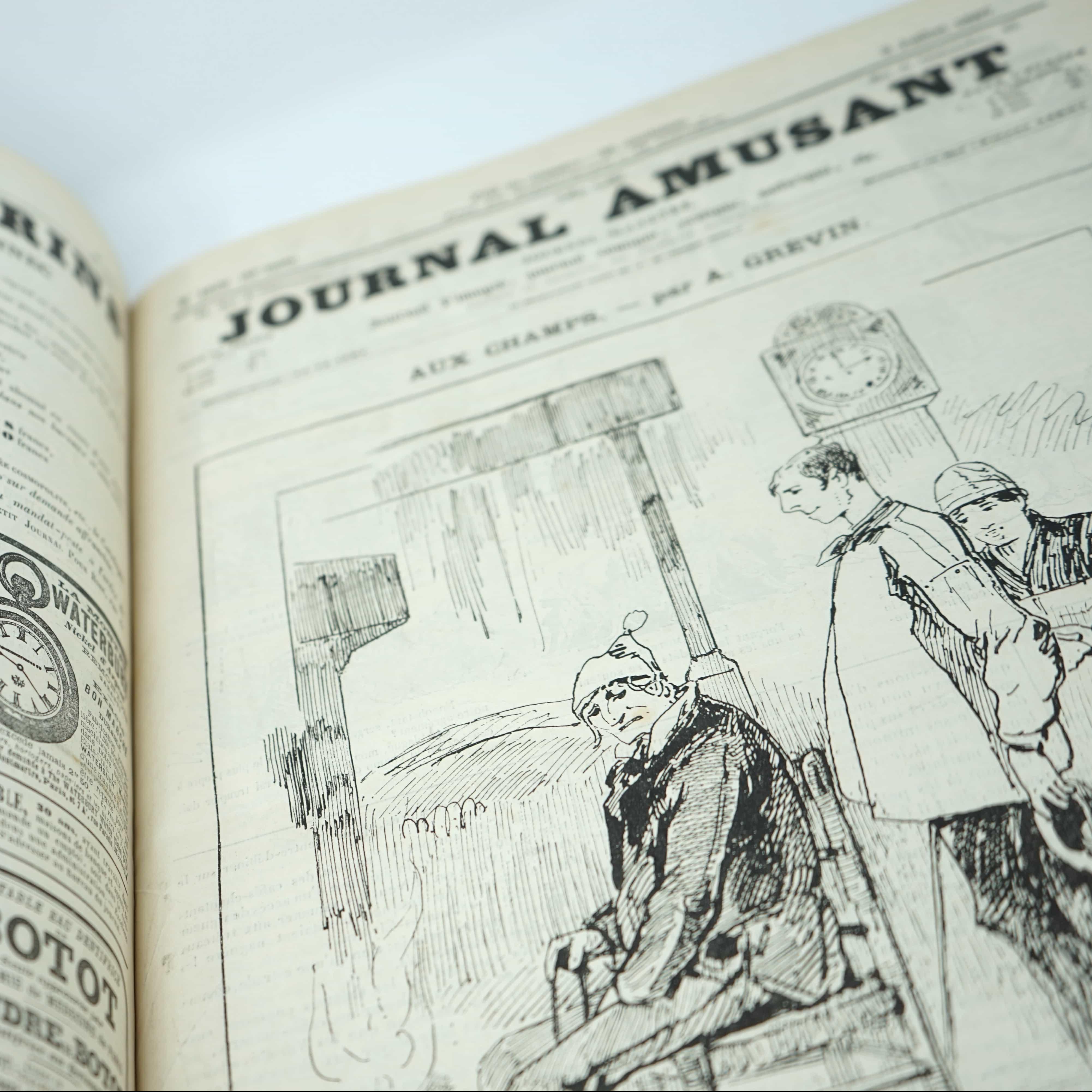 Recueil de magazines Anciens