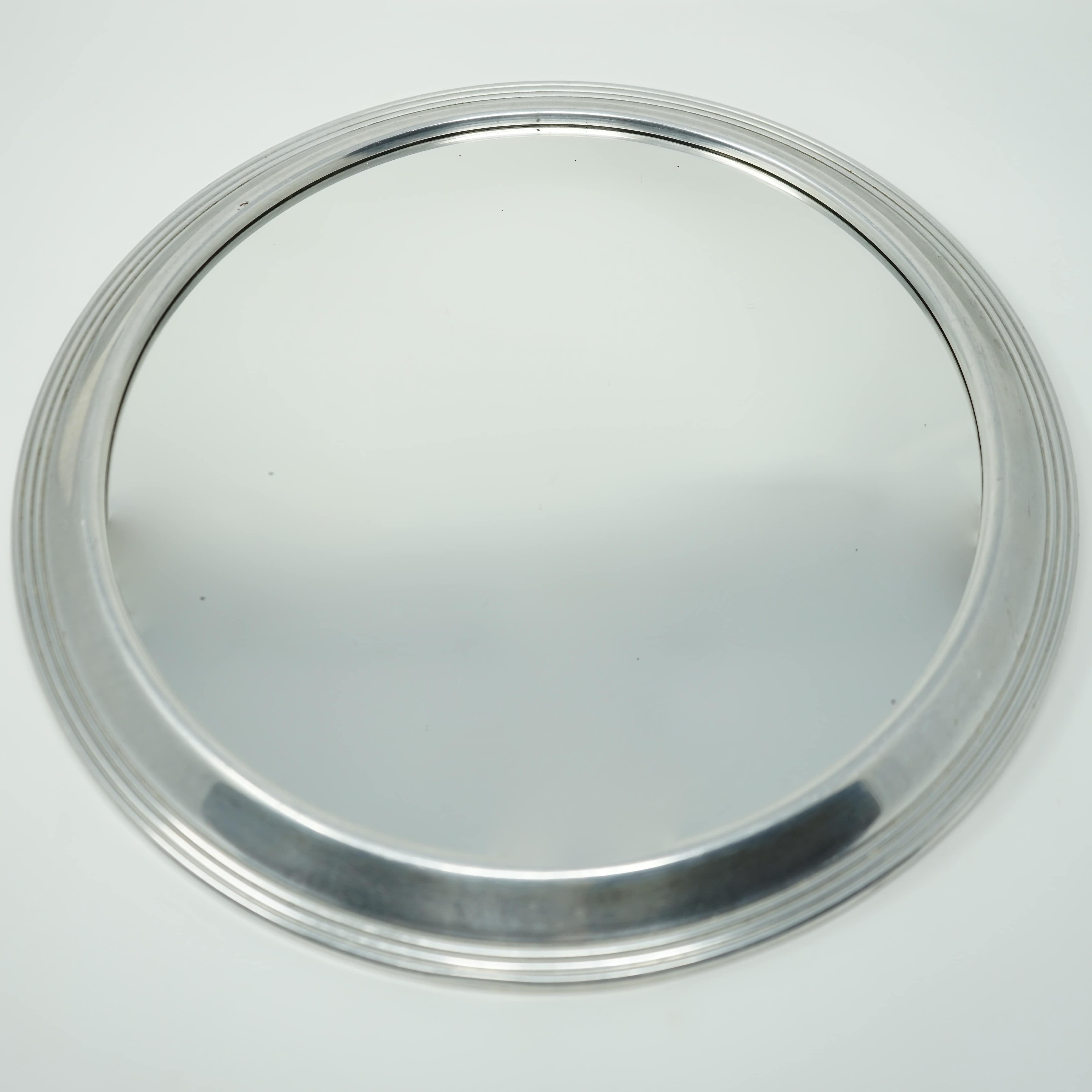 Miroir Art Déco en Aluminium